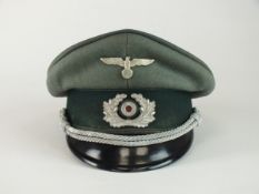 German Third Reich Army Administration Officer's visor cap