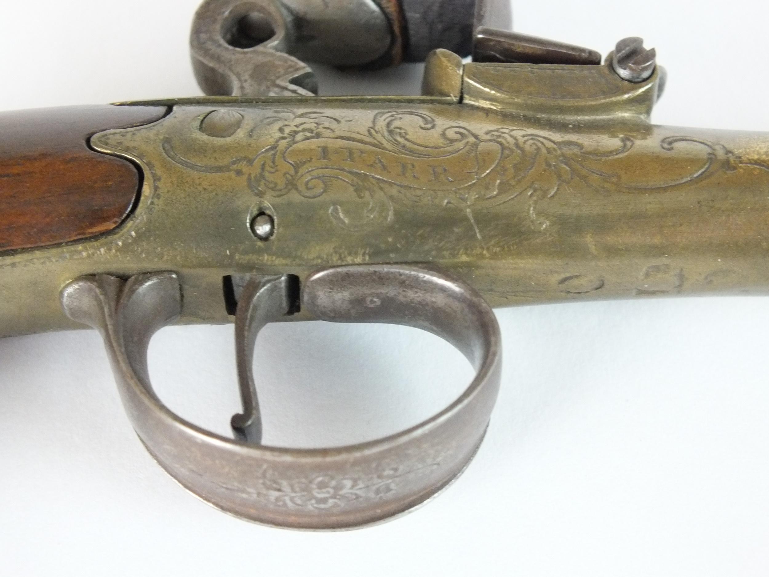 An English flintlock 'Queen Anne' pistol - Image 2 of 5