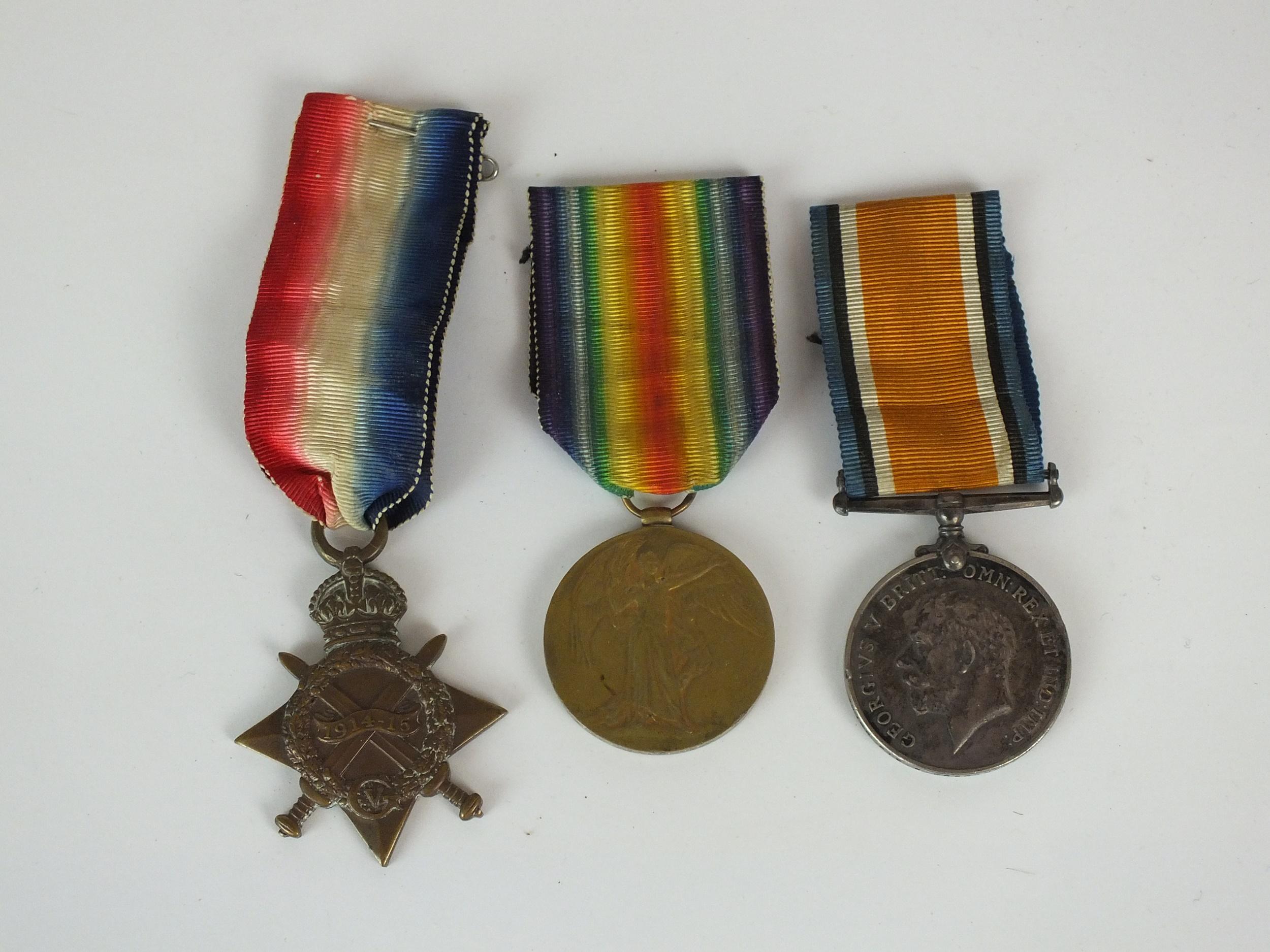 Three WW1 medals