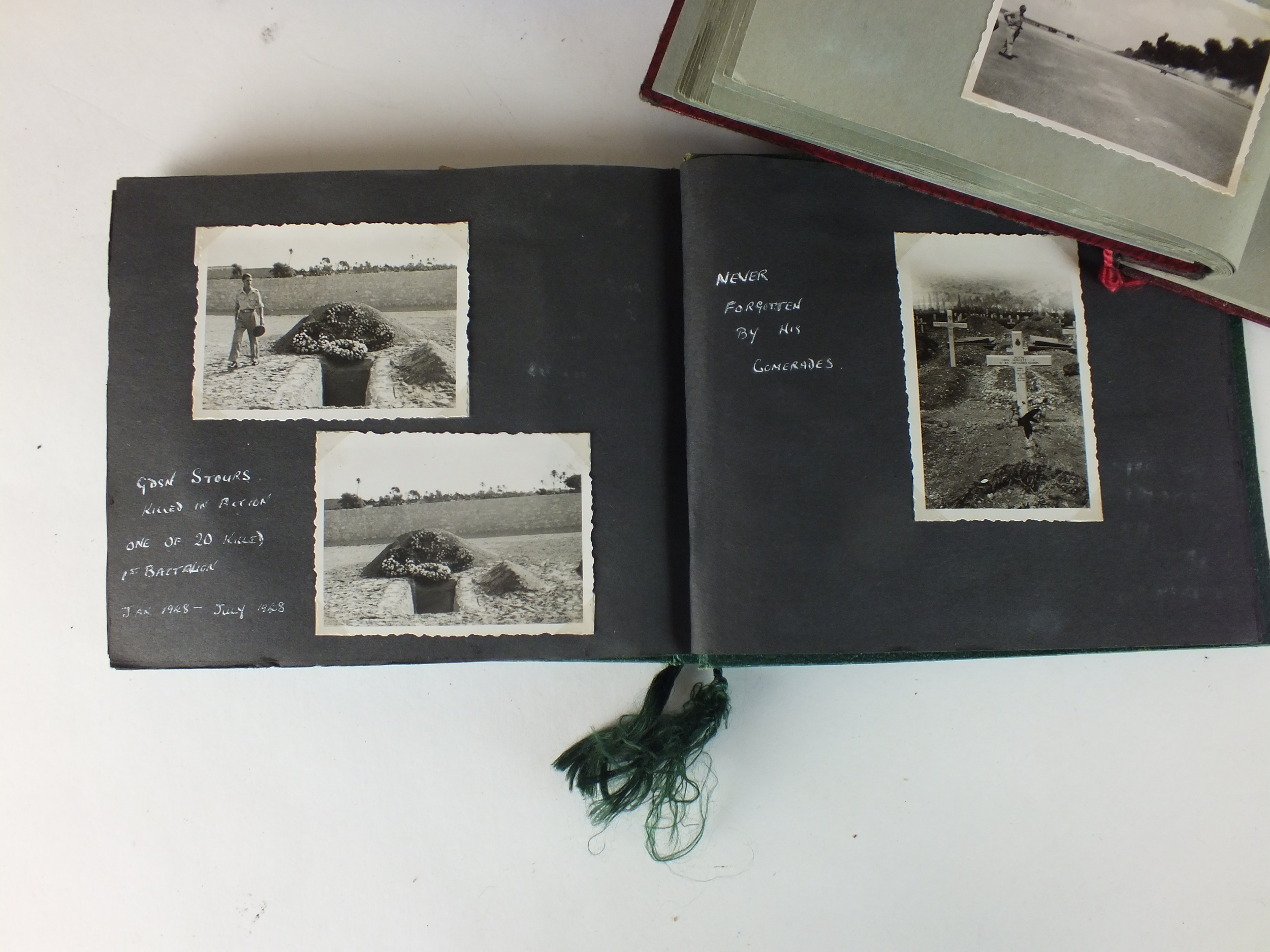 Palestinian and Royal Interest - three photograph albums - Image 3 of 9