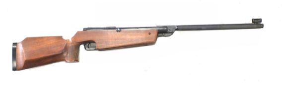 An Original Model 66 .177 Calibre Target Air Rifle, serial 7731466, with front sights, walnut target