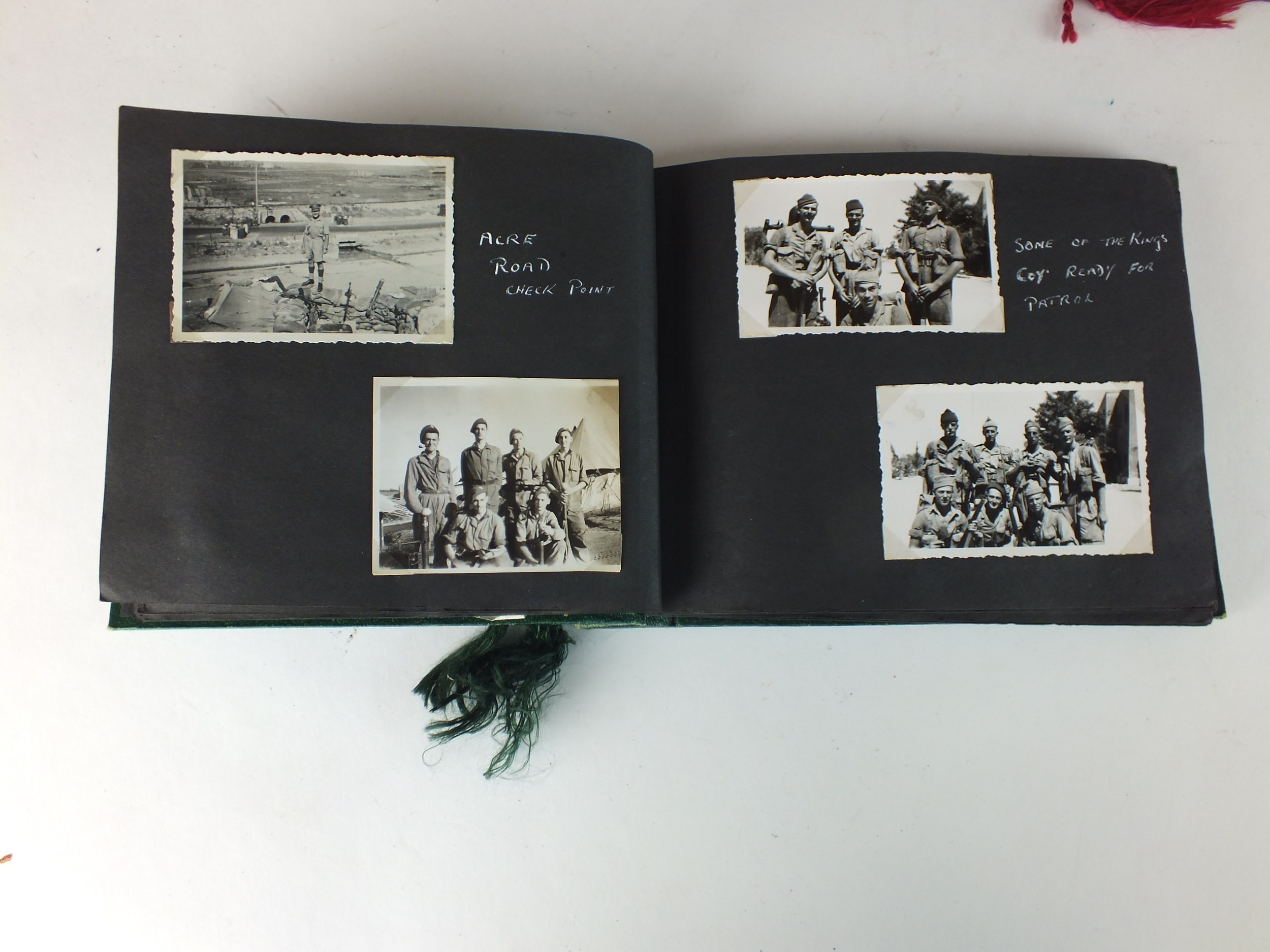 Palestinian and Royal Interest - three photograph albums - Image 4 of 9
