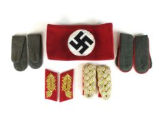 A mixed group of reproduction German insignia