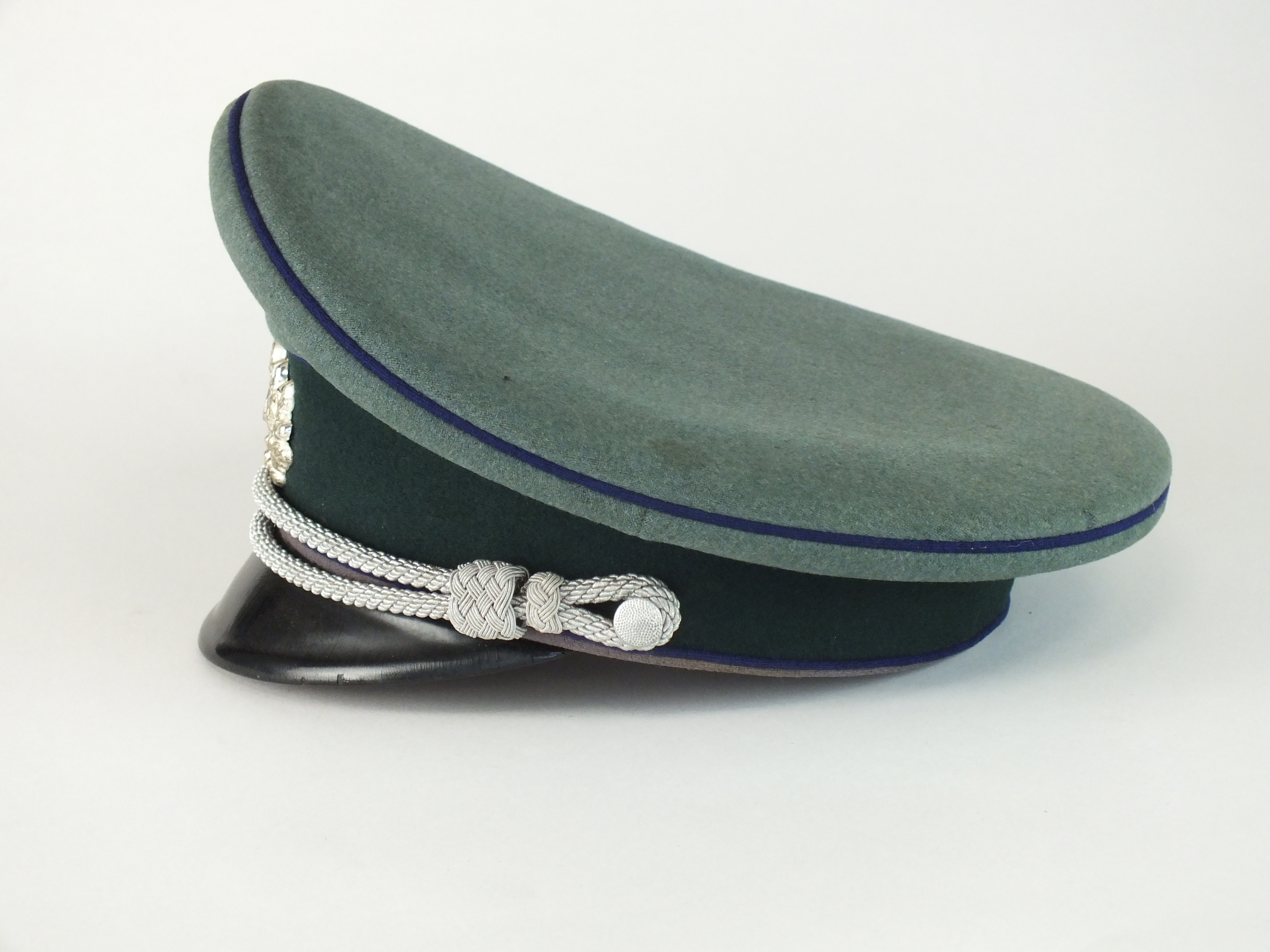 German Third Reich Army Medical Officer's visor - Image 3 of 5