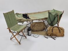 WW2 Officer's field campaign camping kit used by RAF Squadron Leader J. W. Morison (192123)