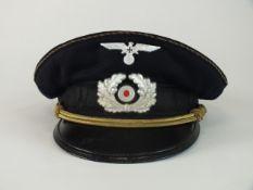 A rare German Third Reich visor for a Kreisführer of the NS-Reichskriegerbund