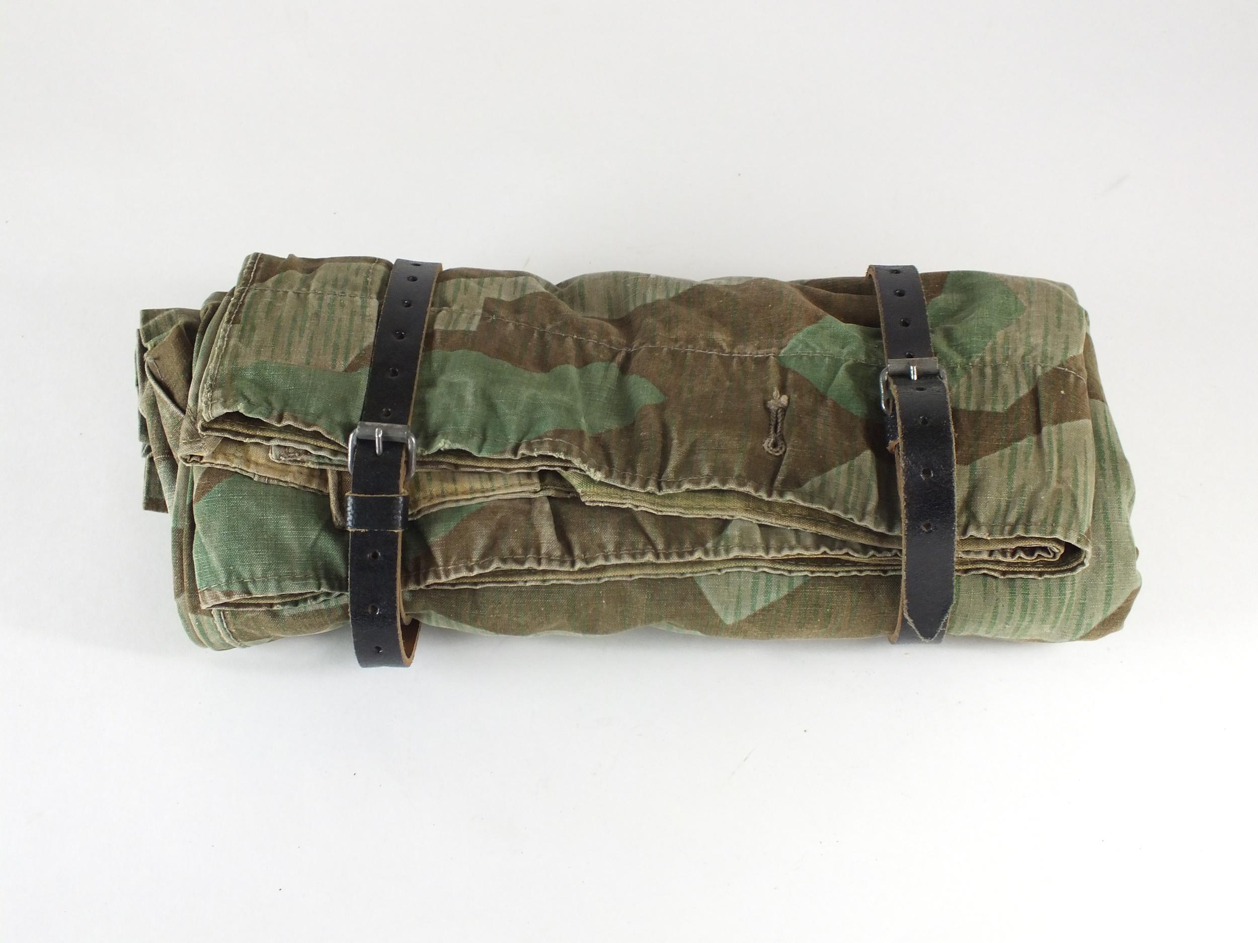 German WW2 camouflage zeltbahn