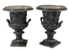 Paar Medici-Vasen