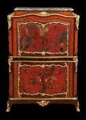 Eleganter Louis XV-Secretaire à Abattant