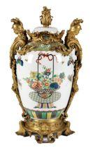Montierte Samson-Vase