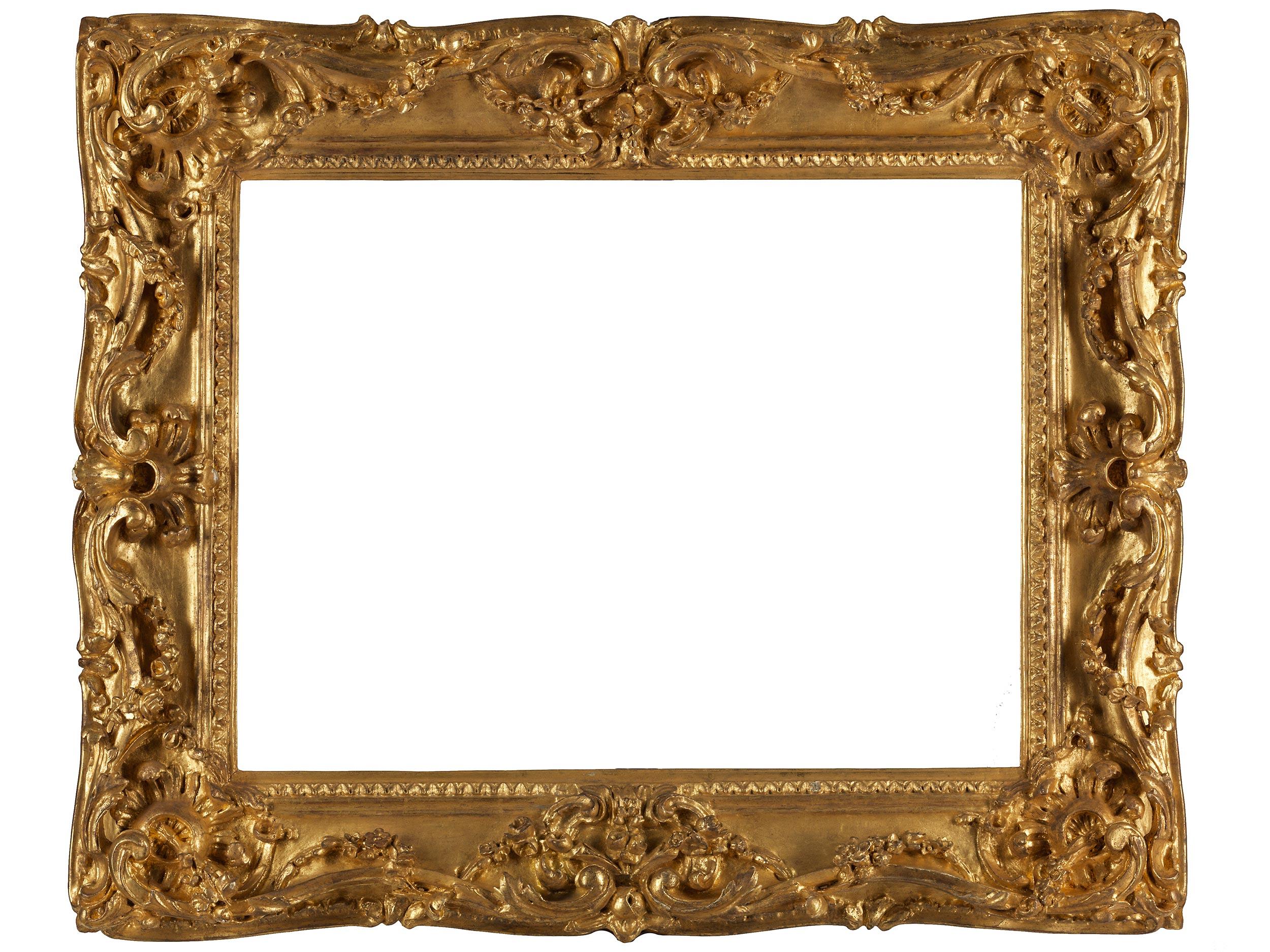 Großer Rahmen im Louis-XV Stil