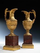 Paar Napoleon III-Zierkannen