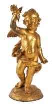 Bedeutende Louis XIV-Figur eines Amor