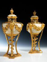 Paar Louis XVI-Brûle de Parfum