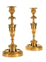 Paar Ormolu-Kerzenstöcke