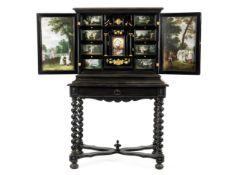 Flämisches Kabinett mit feiner Malerei