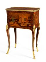 Hochfeiner Louis XV-table d'appoint