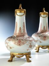 Paar chinesische Vasen mitLouis XVI-Montierung