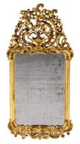 Prachtvoller Rokoko-Spiegel