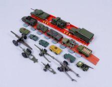Konvolut Modellautos, Dinky Toys, Corgy, Lesney, u.a., um 1960/70