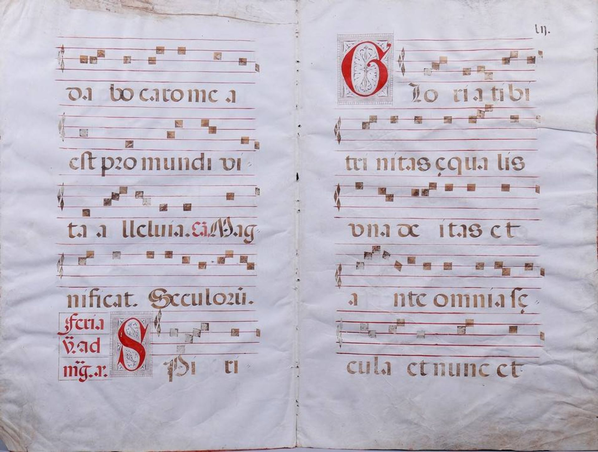 2 Notenblätter