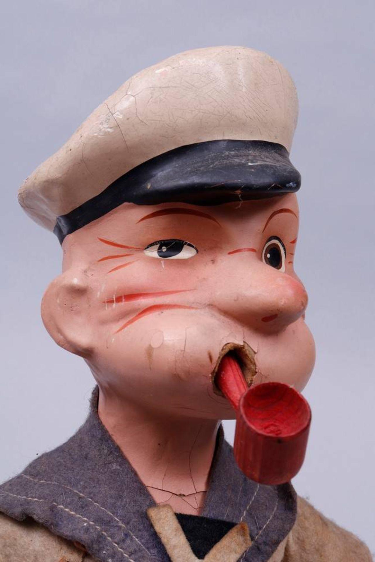 """Puppe, """"Popeye"""", wohl deutsch, um 1930 - Bild 4 aus 6"""