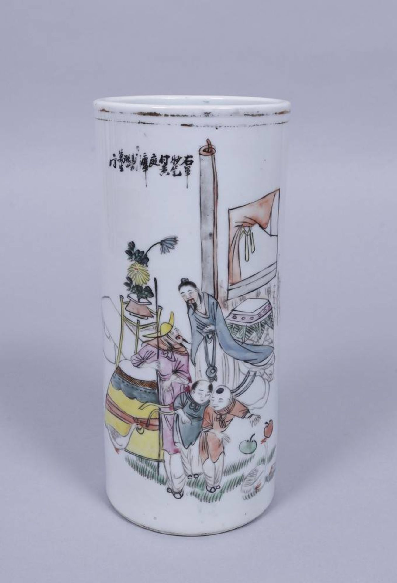 Große Bechervase, China, Republik-Zeit (1912-1949)