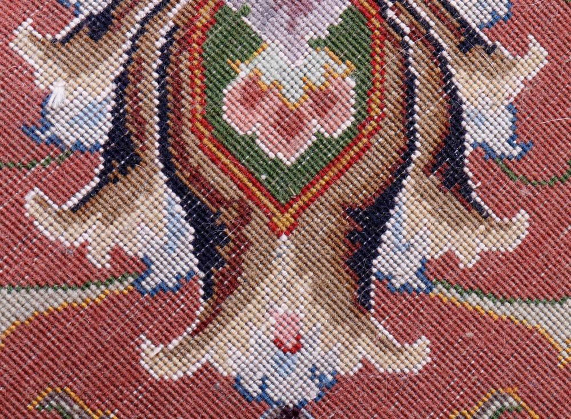 Teppich, Täbriz, Persien, Korkwolle mit Seide auf Baumwolle - Image 3 of 3