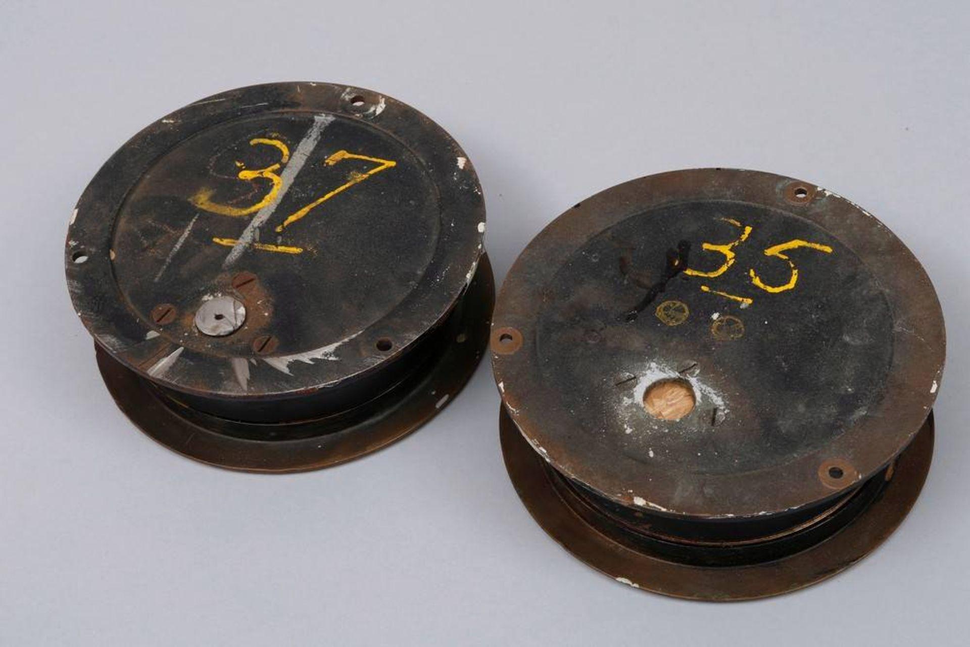 2 Schiffsinstrumente, USA, wohl 1930er/40er Jahre - Image 4 of 4