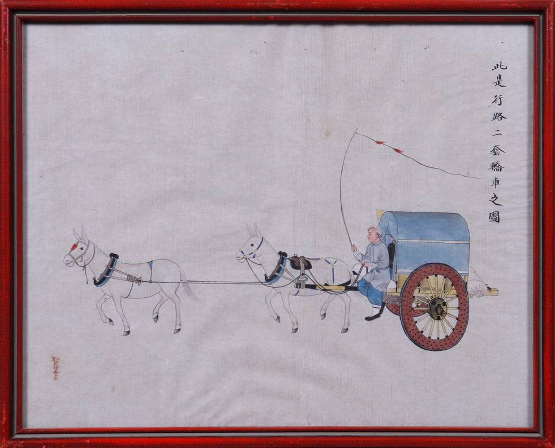 Zhou Peichun (China, tätig Ende 19.Jh./Anfang 20.Jh.) - Image 4 of 5