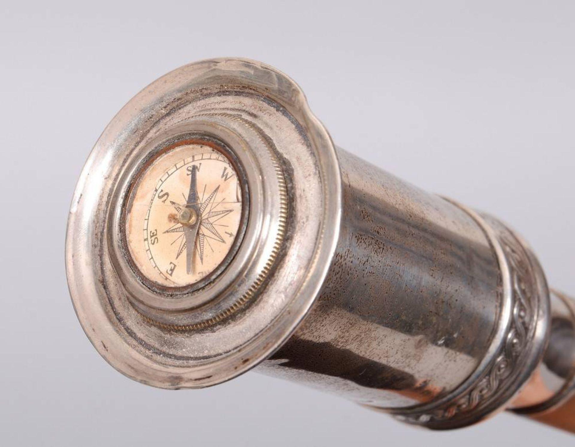 Gehstock mit Kompass, England, 19.Jh. - Bild 3 aus 3