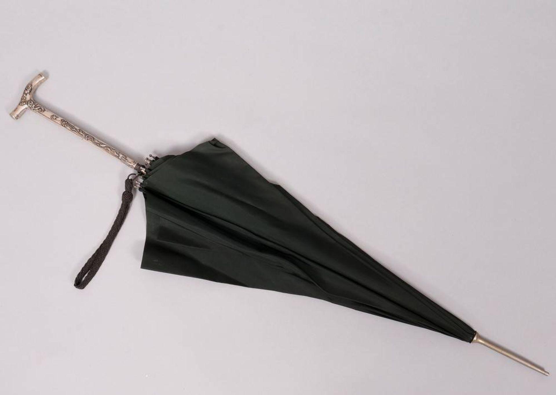 Jugendstil-Sonnenschirm, wohl deutsch, um 1900 - Image 2 of 3