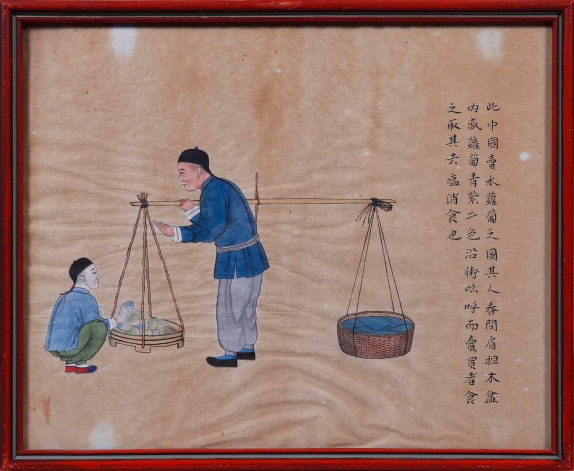Zhou Peichun (China, tätig Ende 19.Jh./Anfang 20.Jh.) - Image 5 of 5
