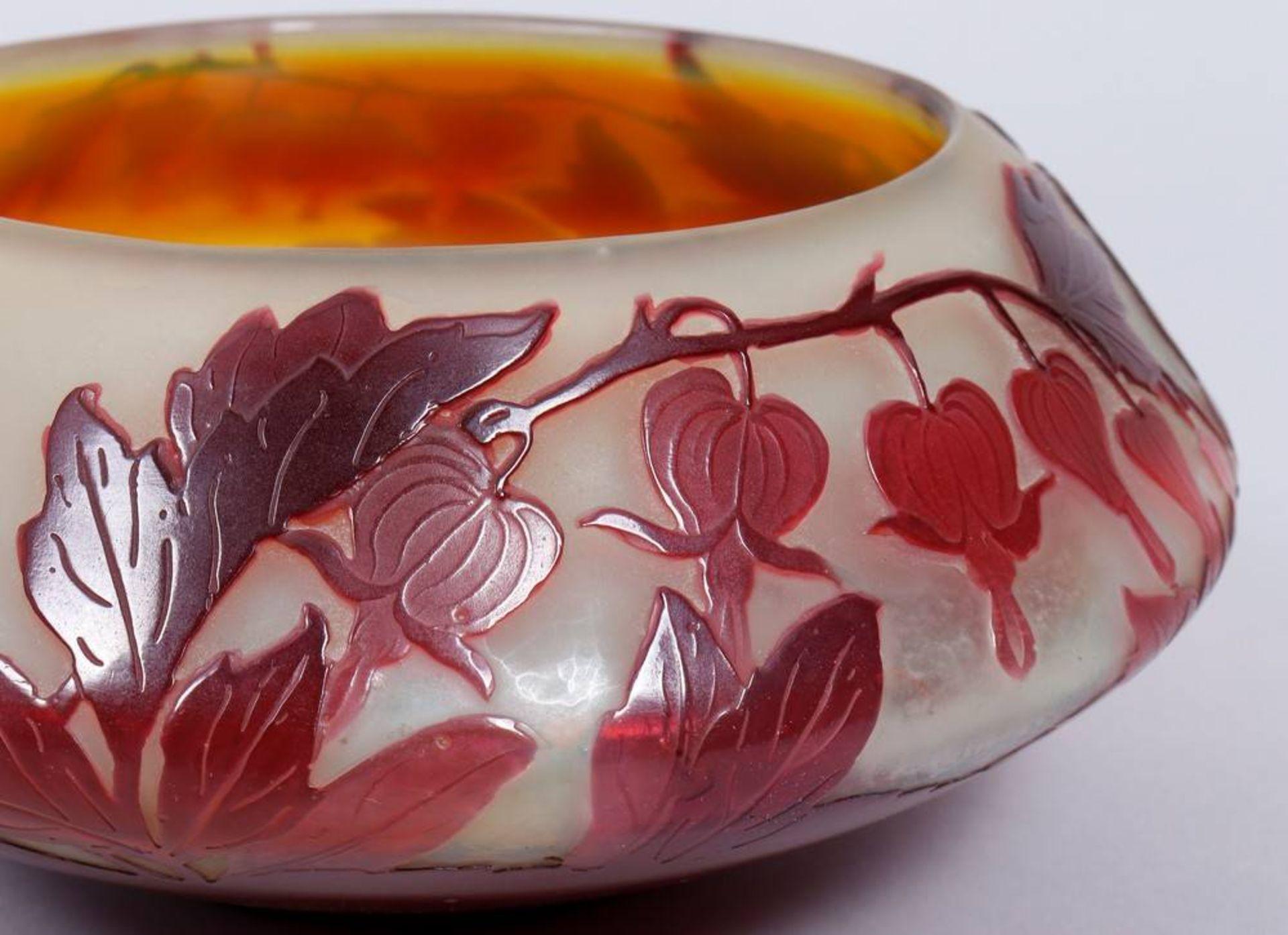 Art Nouveau bowl, Émile Gallé (1846-1904), Nancy, ca. 1900 - Image 3 of 4