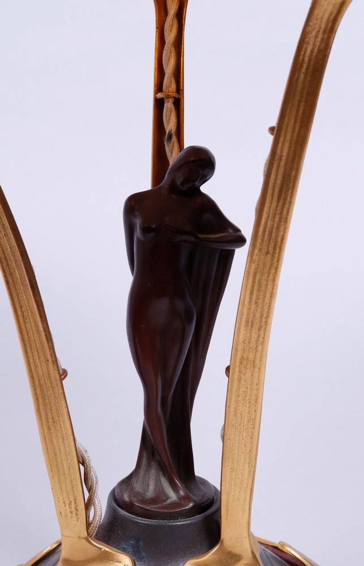 Art Nouveau table lamp, probably Loetz, 1st half 20th C. - Image 3 of 6