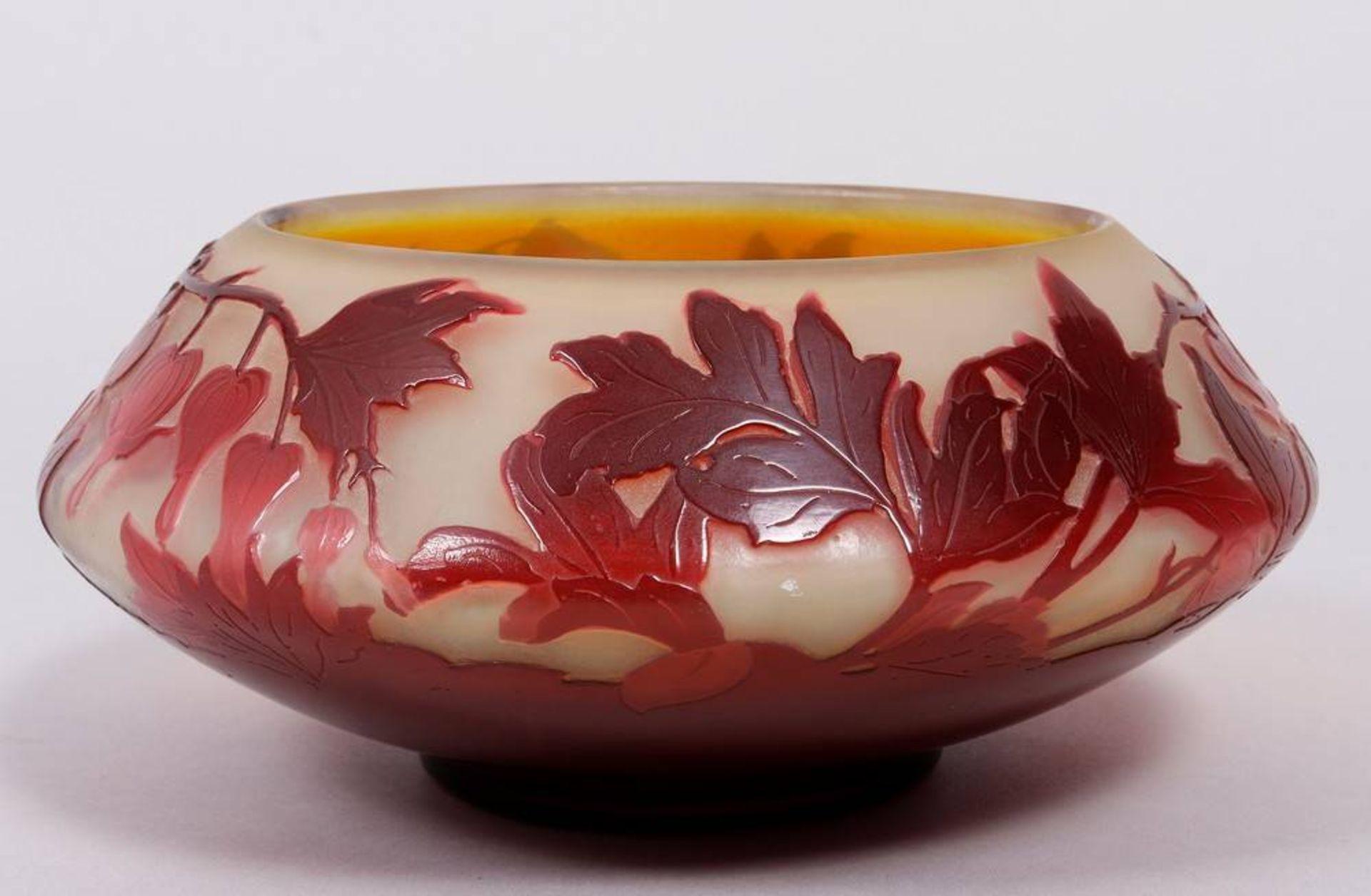 Art Nouveau bowl, Émile Gallé (1846-1904), Nancy, ca. 1900 - Image 2 of 4