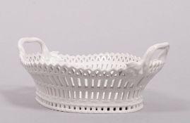 "Basket bowl (""Englischer Korb""), designed in 1770 by Friedrich Elias Meyer for KPM-Berlin,"
