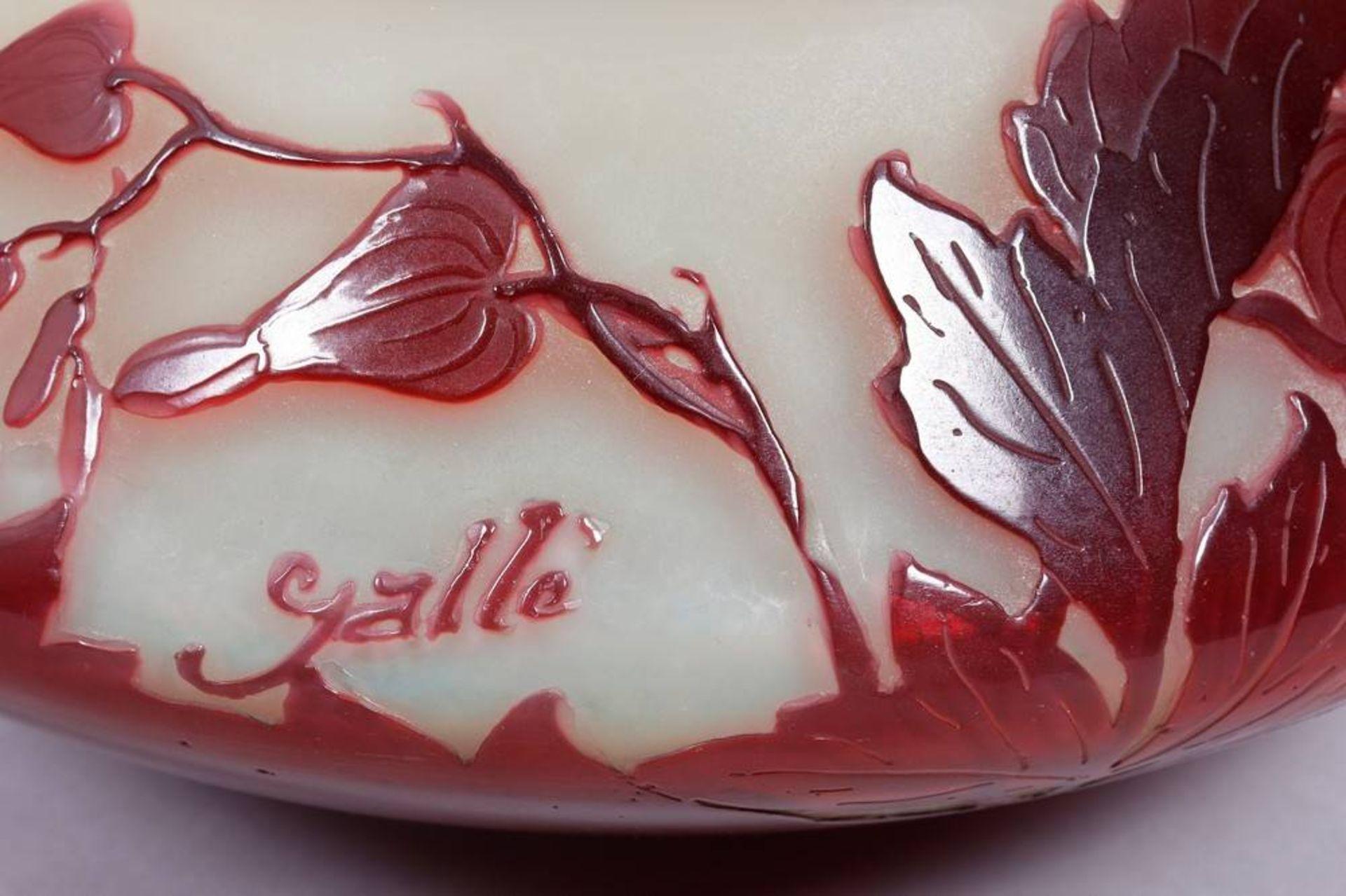 Art Nouveau bowl, Émile Gallé (1846-1904), Nancy, ca. 1900 - Image 4 of 4