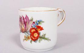 Empire cup, Meissen, Marcolini period, 1774-1817