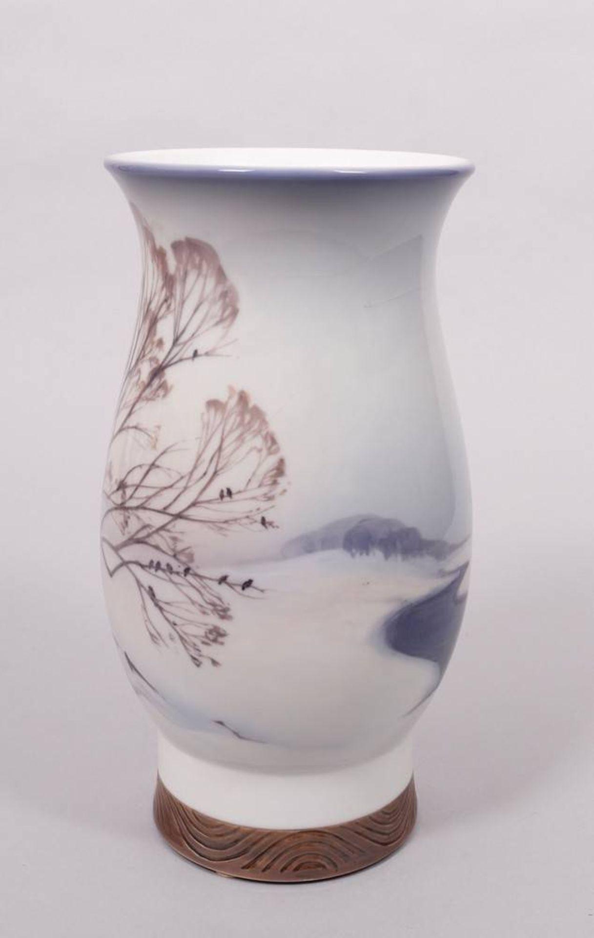 Art Nouveau vase (unique piece), Bing & Grøndahl, Copenhagen, ca. 1920 - Image 4 of 5