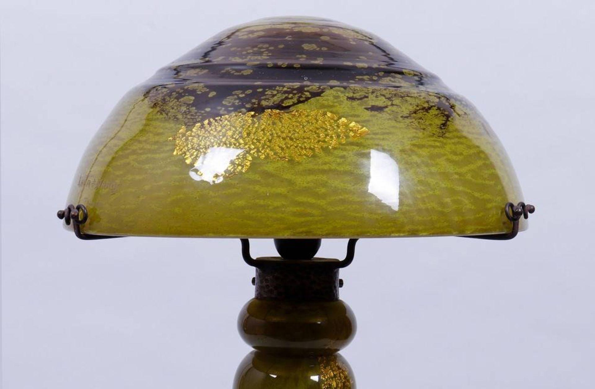 Large Art Nouveau table lamp, Daum, Nancy, ca. 1900/10 - Image 2 of 5