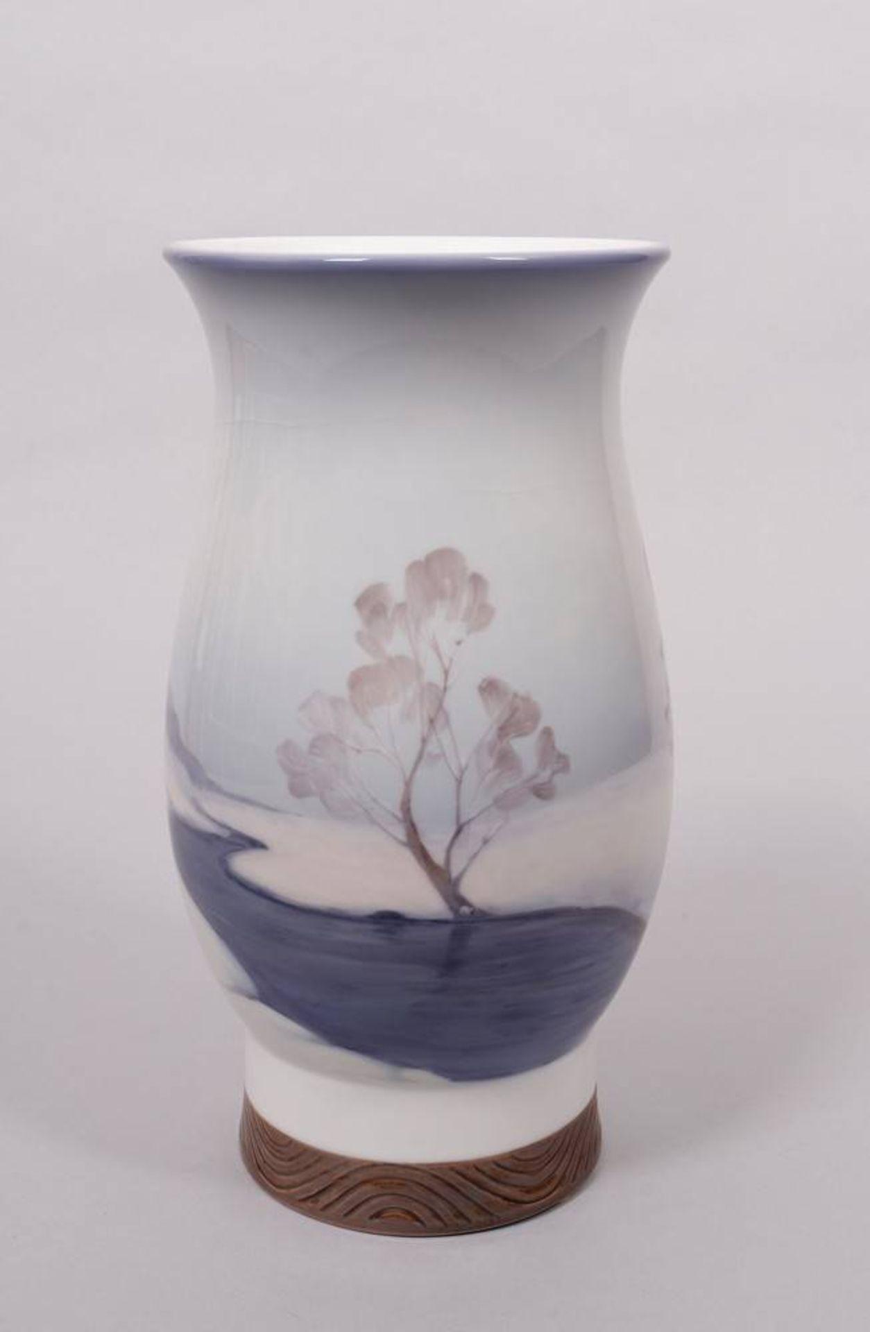 Art Nouveau vase (unique piece), Bing & Grøndahl, Copenhagen, ca. 1920 - Image 3 of 5