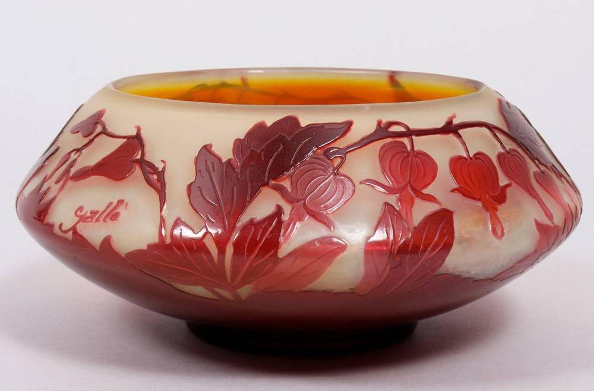 Art Nouveau bowl, Émile Gallé (1846-1904), Nancy, ca. 1900