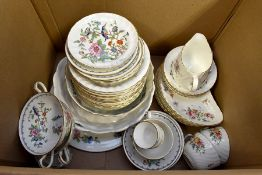 Minton Marlow Collection tea wares along with Aynsley tea wares *** Provenance: from the Estate of
