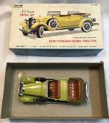 Hubley/Gabriel: A boxed Hubley/Gabriel Packard Sport Phaeton 1930. Metal kit , built, slight