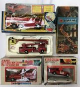 Corgi: A collection of assorted fire fighting vehicles to include 1103 Chubb Pathfinder Airport