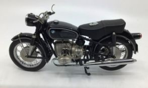 Franklin Mint: A boxed BMW Motorcycle R-50 by Franklin Mint. Boxed but no paperwork. One mirror