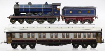 Bassett-Lowke: A Carette for Bassett-Lowke, O Gauge, 4-6-0, Locomotive and Tender, 'Cardean', 903,
