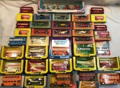 Matchbox: A collection of assorted Matchbox Yesteryear vehicles along with Corgi, Budgie and Lone