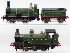 G&SWR: An O gauge, kit built, 0-6-0, Tank Locomotive, G&SWR, '5', unknown manufacturer; together
